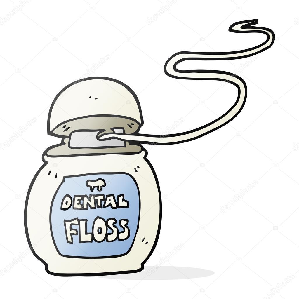 Clipart: floss.