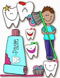 FREEBIE! Dental Health FUN Clip Art — Teacher KARMA.