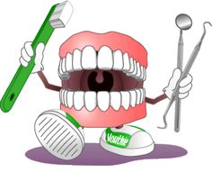 Dental hygiene clipart.