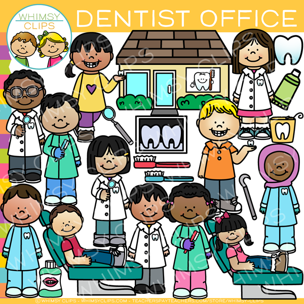 Kids Dentist Office Clip Art.