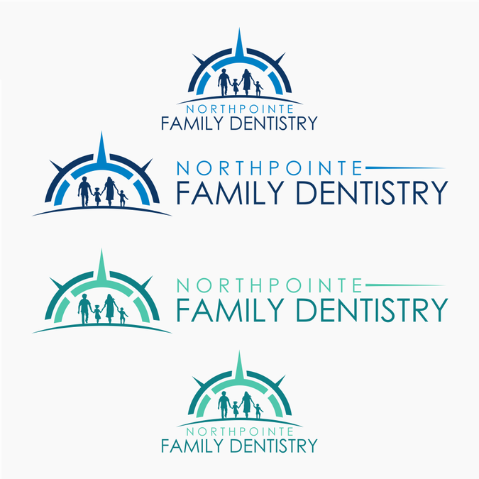 Create a modern logo for a new dental office. Logo will be.