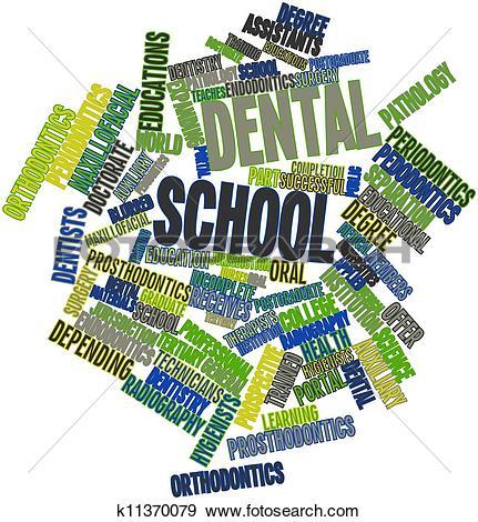 Stock Illustration of Dental school k11370079.