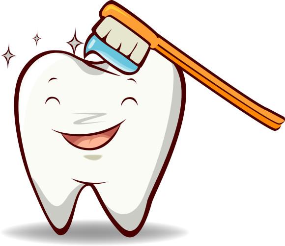 Dental symbols clip art.