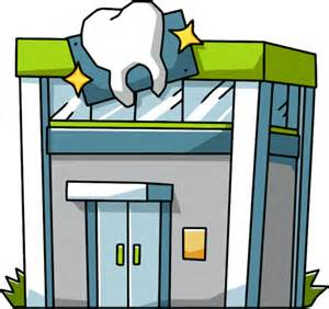Doctors Office Building Clipart One I Made In Open Office, Cartoon.