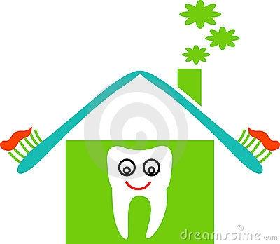 Dental Clinic Building Clipart.