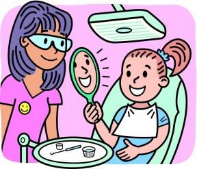 Dentist Building Clipart.