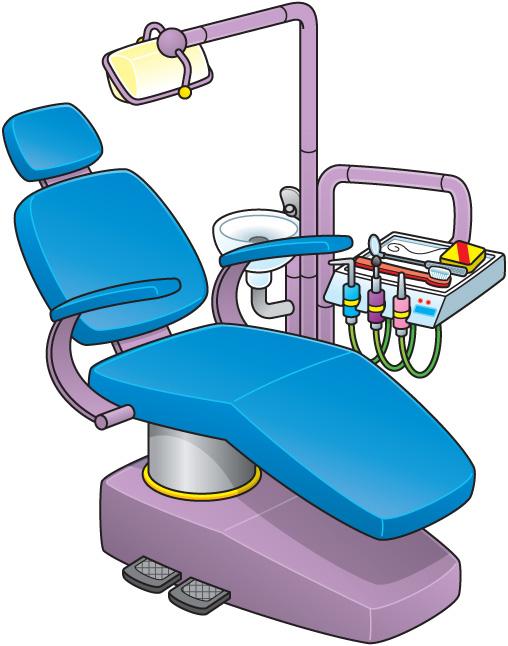 Dental Chair Clipart.
