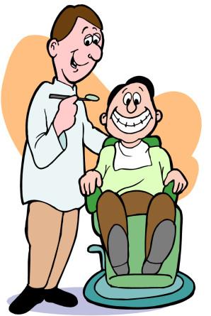 Funny Dentist Clipart.