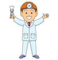 Animated dentist clipart.