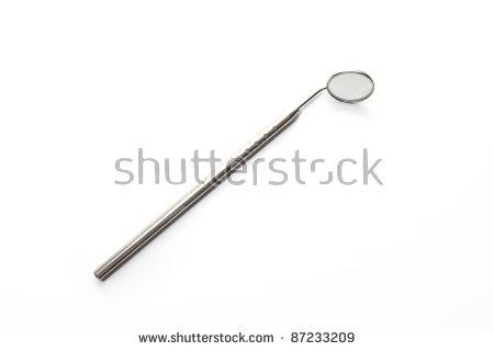 Mouth Mirror Dentist Vector Illustration Stock Vector 561501277.