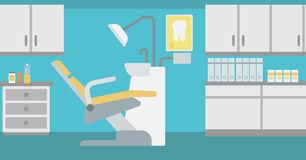 Empty Dental Room Stock Illustrations.