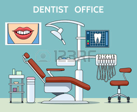 1,678 Dental Office Stock Vector Illustration And Royalty Free.