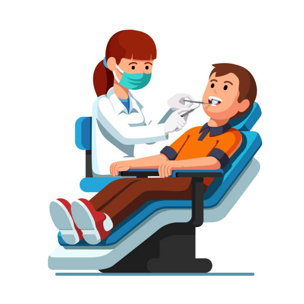 Best Dentist Illustrations, Royalty.