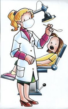 Clip Art, Tanden Tandarts, Auxliliar Dentista.
