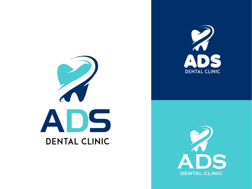 Ads Dental Clinic Logo by Raghu Sharma on Dribbble.