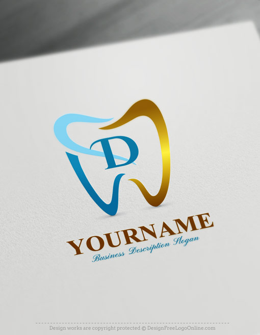Dentist Logo Design Online.