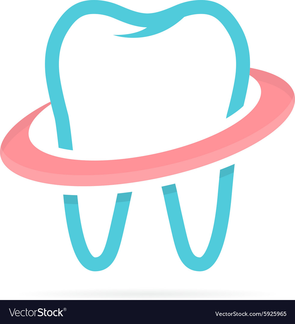 Dentist tooth logo design template Dental clinic.