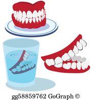 Dentures Clip Art.