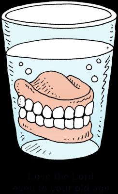 False Teeth Cliparts.