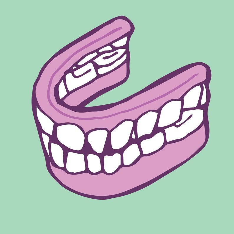 Dentures.