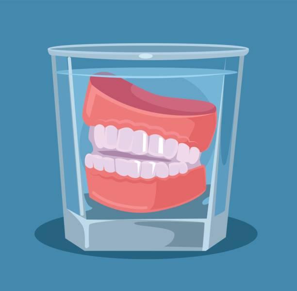 Best Denture Illustrations, Royalty.