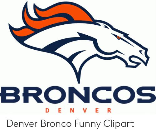BRONCOS DEN VER Denver Bronco Funny Clipart.
