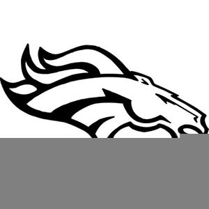 Denver Bronco Logo Clipart.