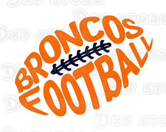 Denver Bronco Clipart.