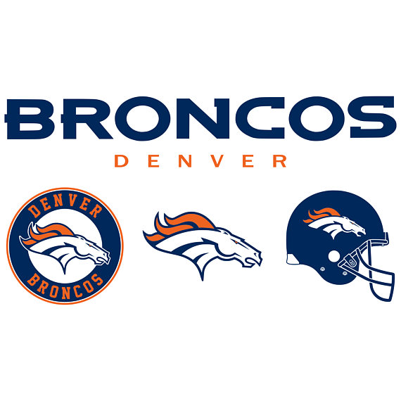 Denver Broncos Clipart Svg Broncos Cute.