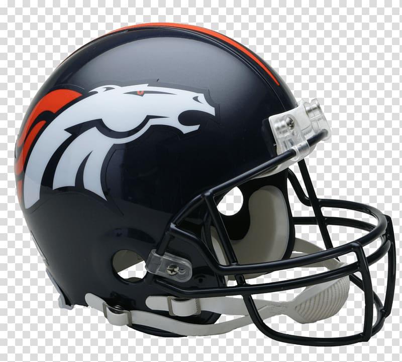Black football helme, Denver Broncos Helmet transparent background.