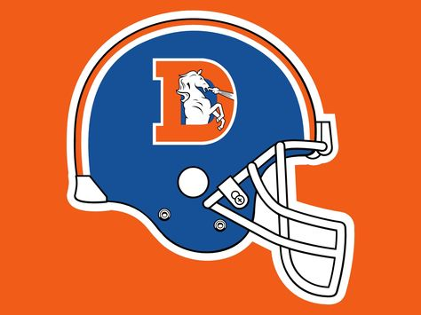 Collection of Broncos clipart.