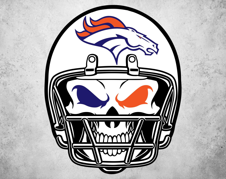 Denver Broncos helmet Svg, Broncos Svg, NFL svg, Football Svg Files.