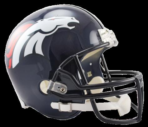 Denver Broncos VSR4 Replica Helmet.