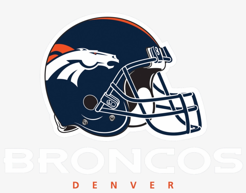 Broncos Logo With Helm Png Image.