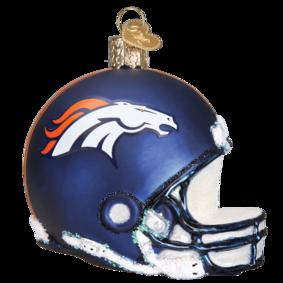 Denver Broncos Helmet Ornament.