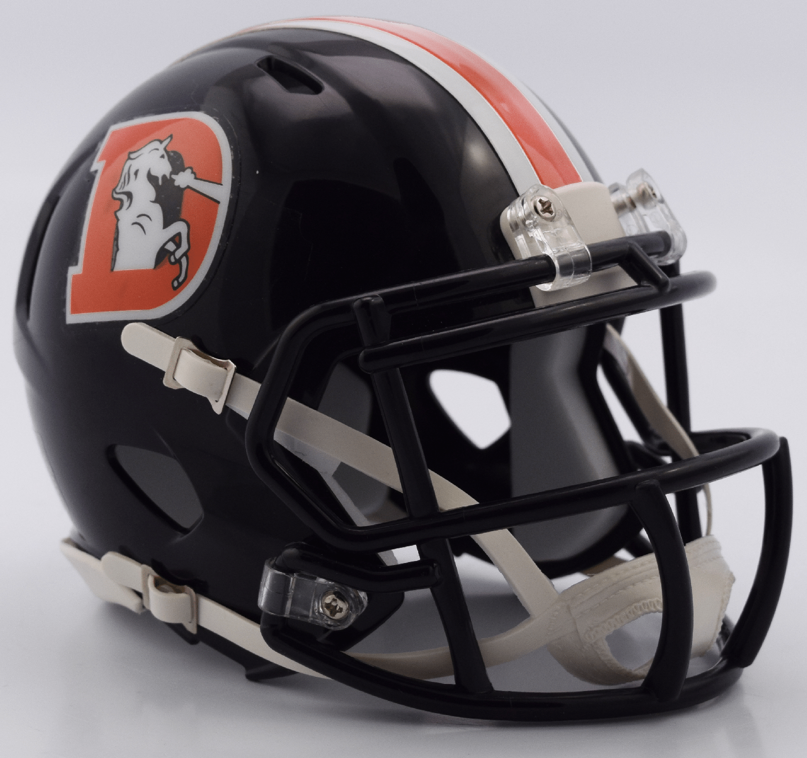 Denver Broncos NFL Mini Speed Football Helmet 2016 Color Rush.