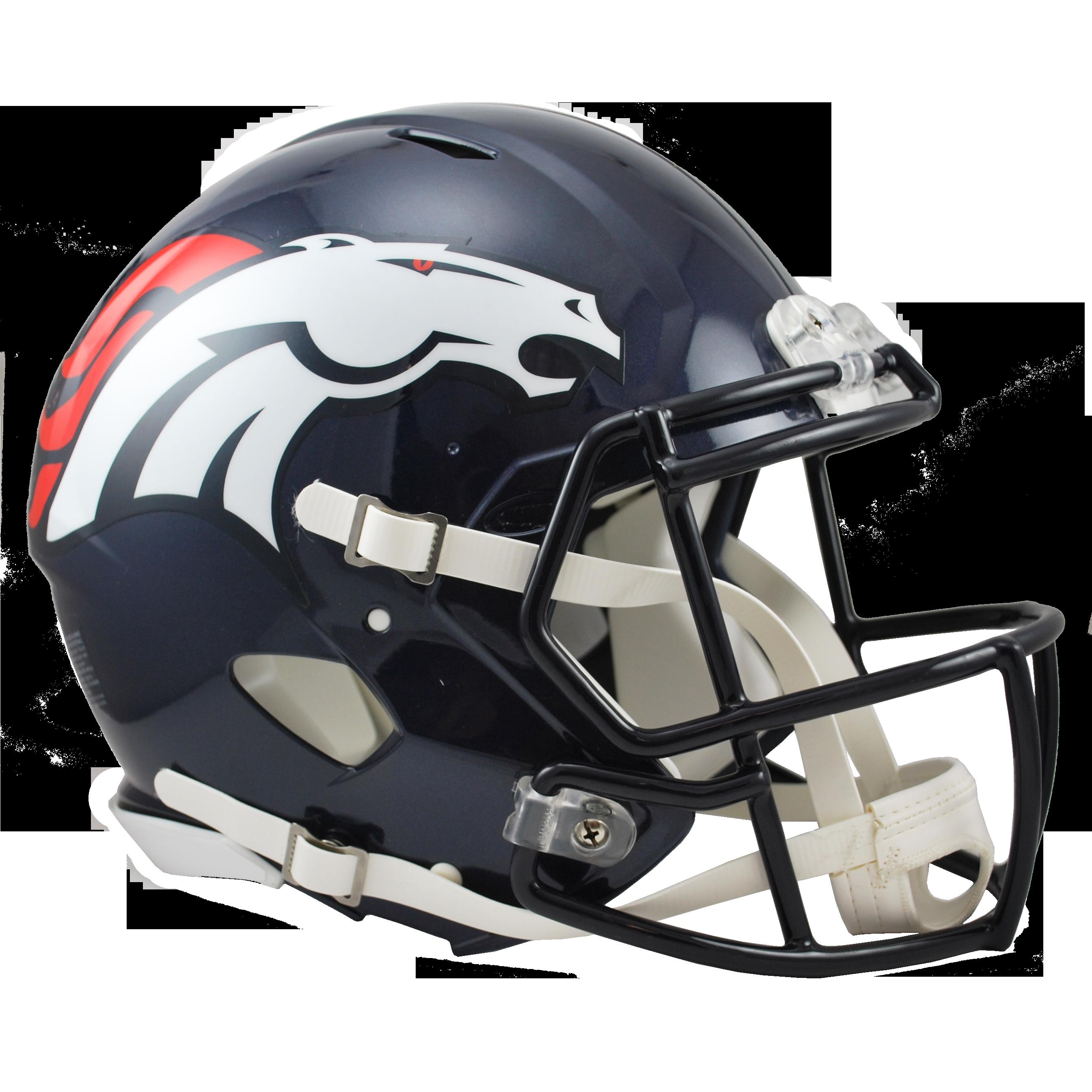 Denver Broncos Speed Authentic Helmet.