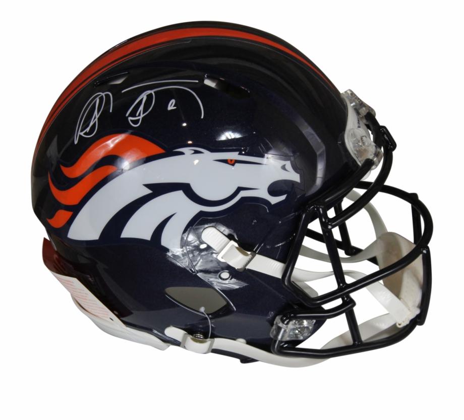 Shannon Sharpe Autographed Denver Broncos Riddell Speed.
