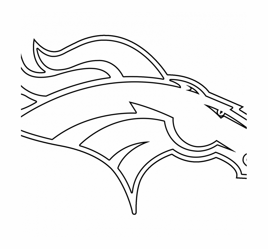 Denver Broncos Logo Transparent Vector Freebie Supply.