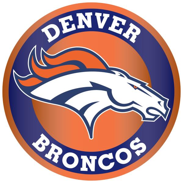 Details about Denver Broncos Circle Logo Vinyl Decal / Sticker 10 sizes!!.