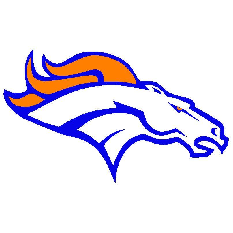 Free Printable Denver Broncos Logo.