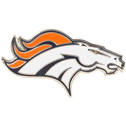 NFL Denver Broncos Logo Pin.