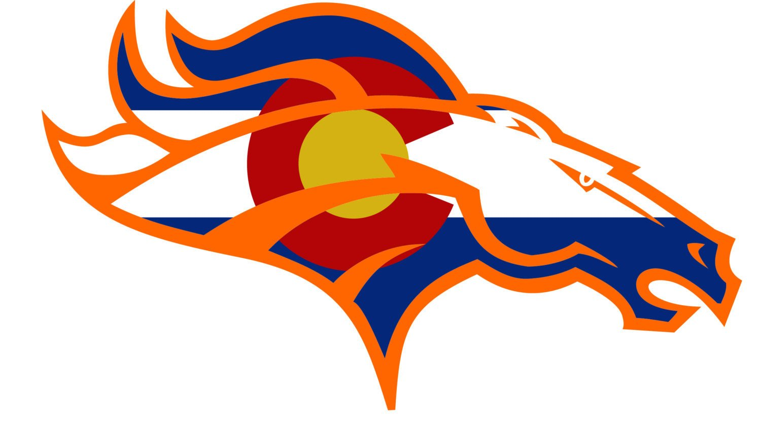 Denver Broncos Logo Clipart at GetDrawings.com.