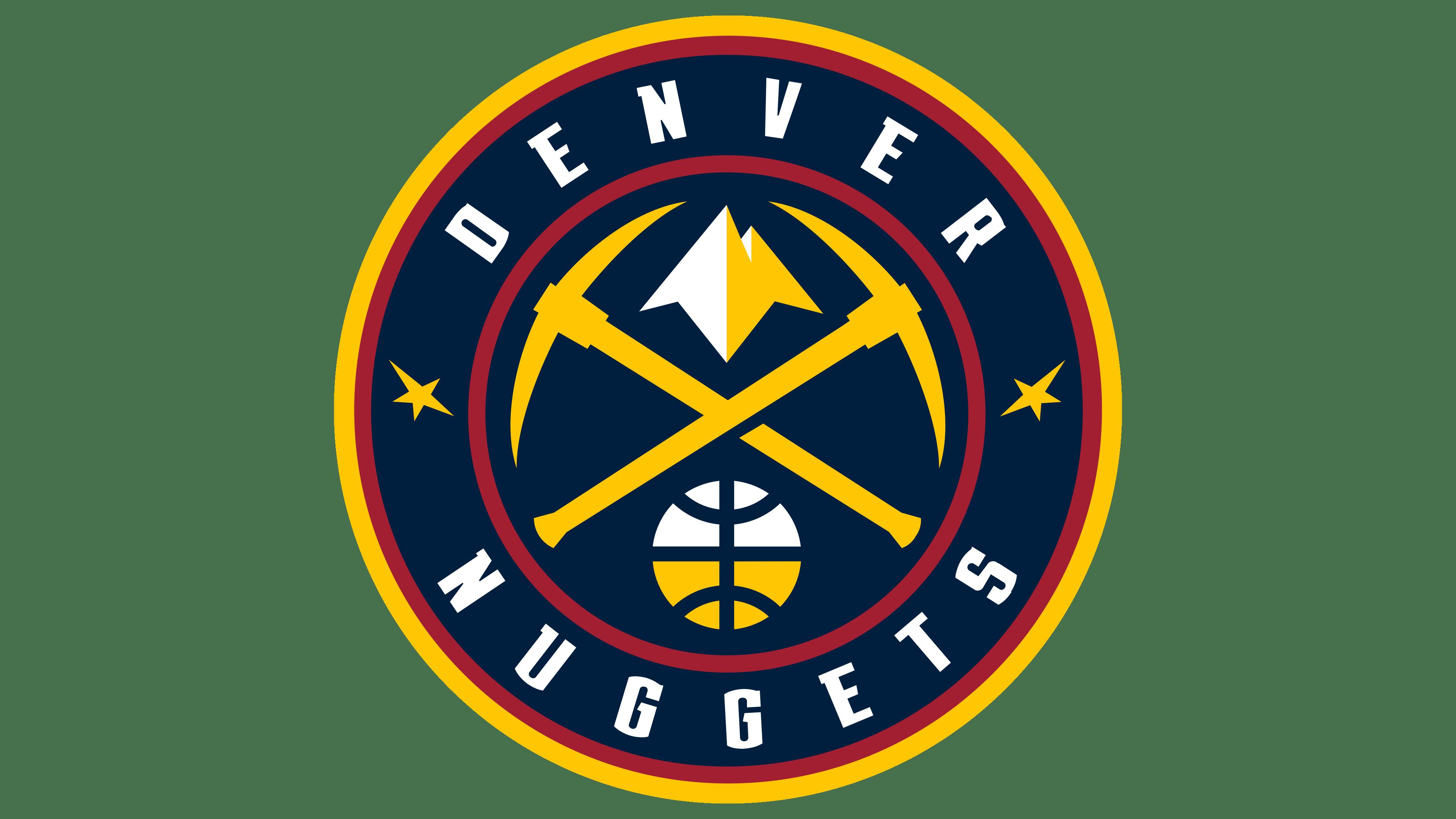 Denver Nuggets Logos.