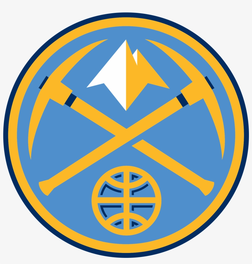 City San Thunder Oklahoma Denver Antonio Nuggets Clipart.