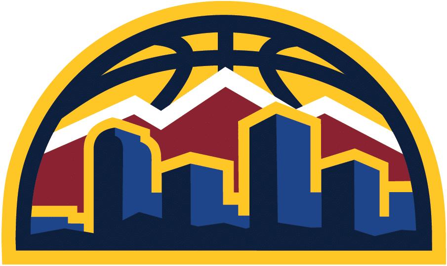 A Close Look at a Nuggets Logo.