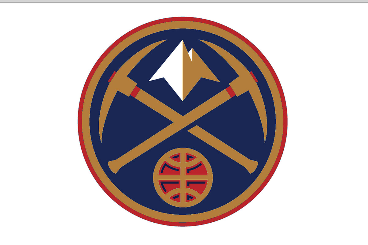 Denver Nuggets jersey rebrand idea.