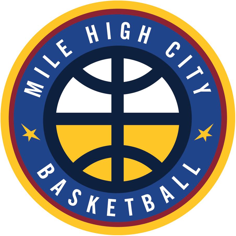 Denver Nuggets Alternate Logo.