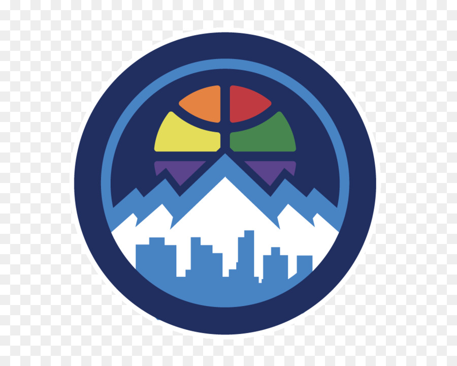 Denver Nuggets Circle png download.