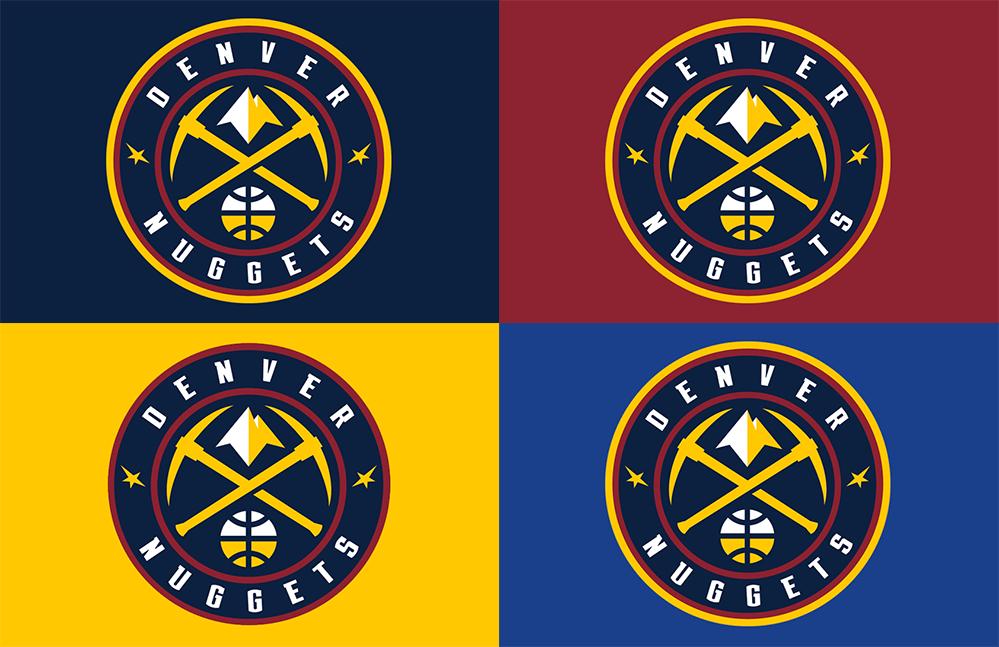 Brand New: New Logos for Denver Nuggets.
